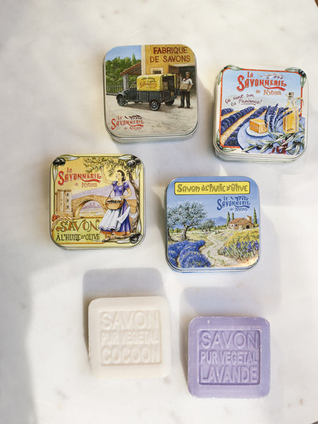French Soap Tin