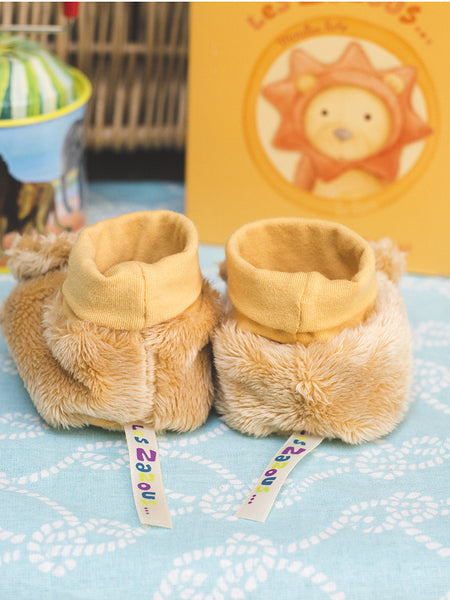 French Lion Slippers