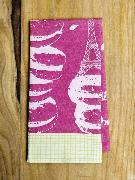 "Moutet ""Les Macarons"" Tea Towel"
