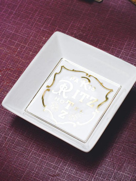 Paris Ritz Hotel Trinket Dish