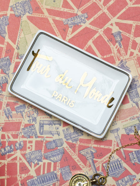Tour du Monde Trinket Tray