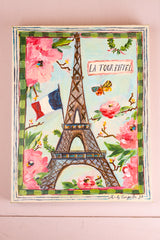 "Mindy Carpenter Painting ""La Tour Eiffel"""