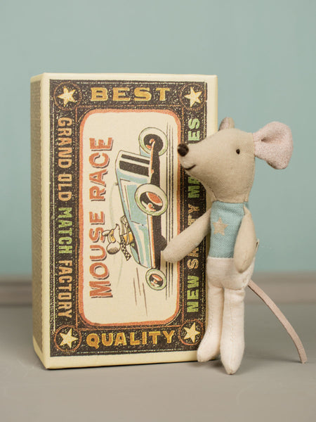 Little Brother Mouse in Match Box