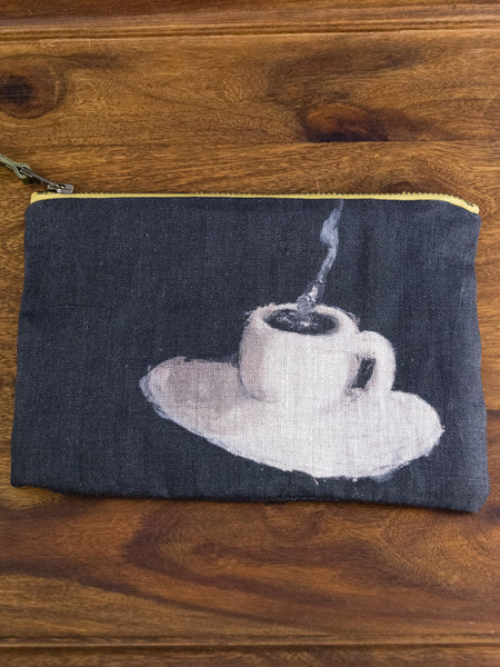 Maison Lévy Coffee Zipper Pouch