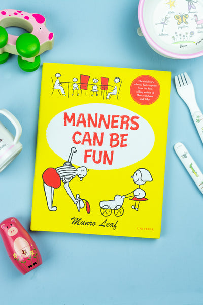 Manners Can Be Fun Book
