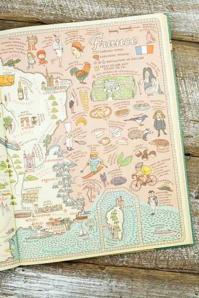 Illustrated Book of MAPS