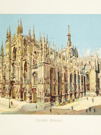 Antique Milan Souvenir Book