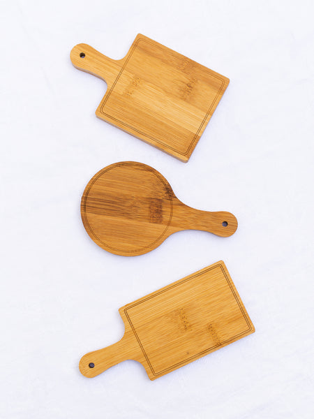 Mini Cheese Boards - Set of 3