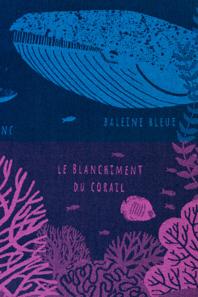 Moutet Oceans Tea Towel