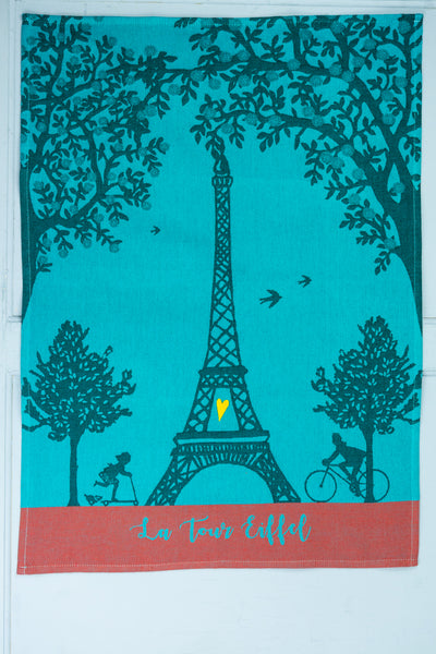 Moutet Eiffel Tower Tea Towel