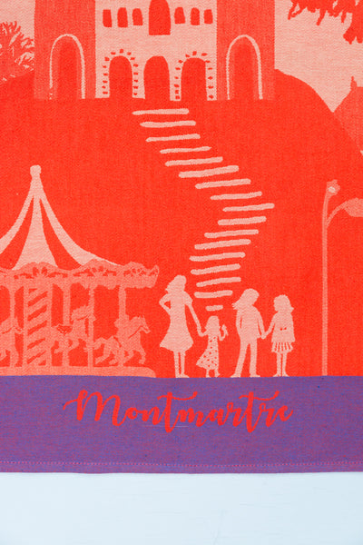 Moutet Montmartre Tea Towel