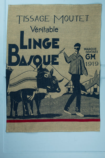 "Moutet ""1919 Linge Basque"" Tea Towel"