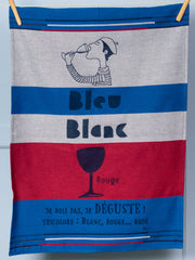 Moutet Tricolore Tea Towel