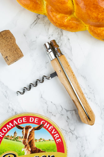 Opinel Picnic Knife with Corkscrew