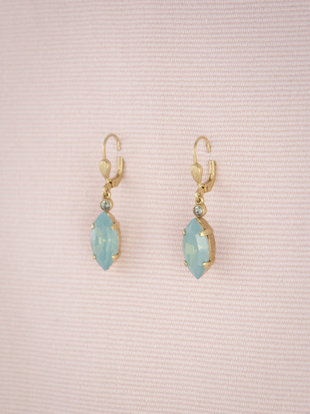 Marquise Crystal Drop Earrings