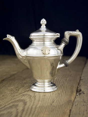 Vintage Silverplate William Penn Hotel Coffee Pot