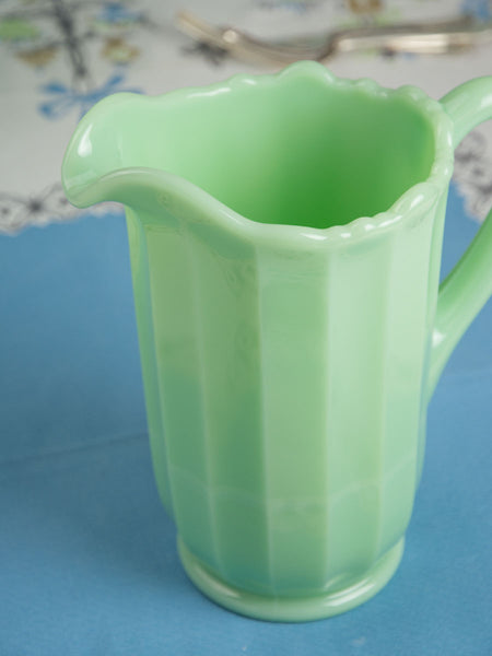 Jadeite Pitcher