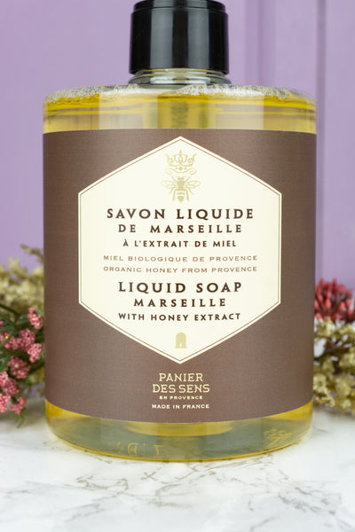 Panier des Sens Regenerating Honey Liquid Marseille Soap