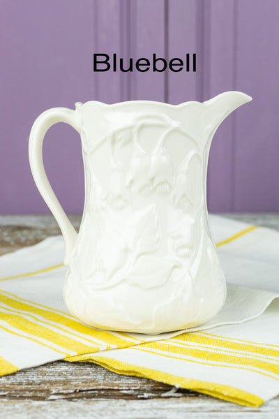 Petite Floral and Fruit Pitcher