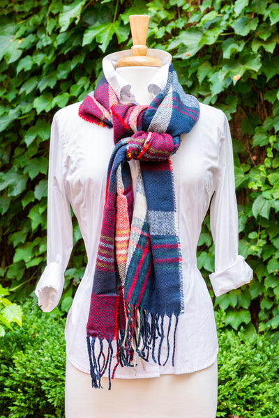 50% OFF! Oversized Plaid Scarf