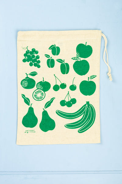 Cotton Produce Bags - Set of 3