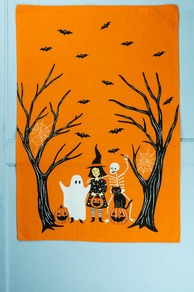 Pumpkin Patch Dishtowel - Set of 2