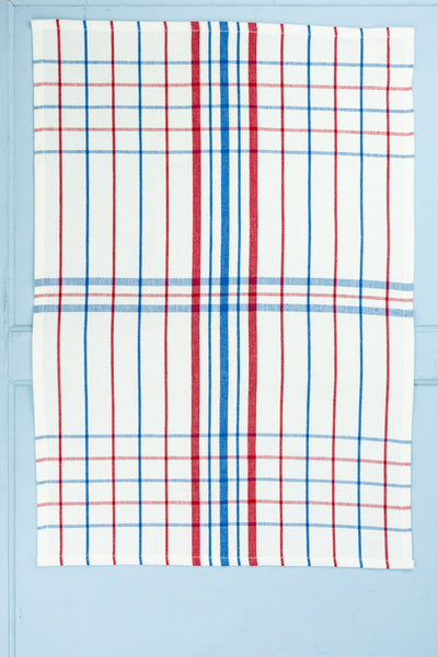 Red, White & Blue Tea Towels - Set of 3