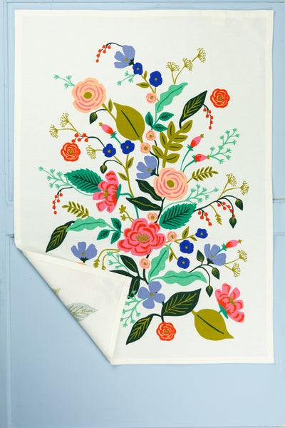 Blooming Floral Tea Towel
