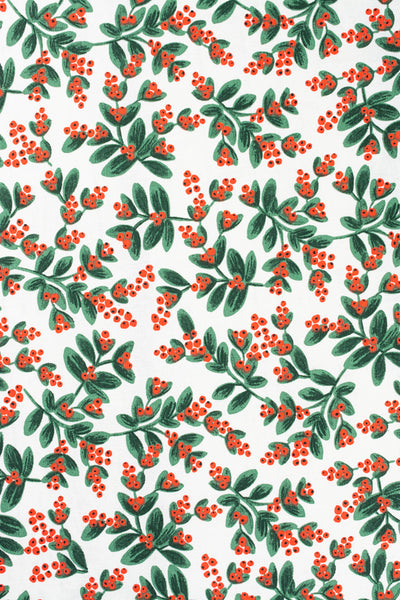 Winterberries Tea Towel