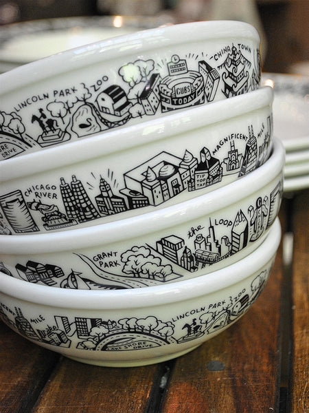 Chicago Skyline Cereal Bowl