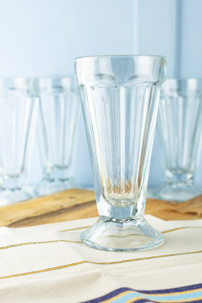 Vintage Soda Fountain Glass