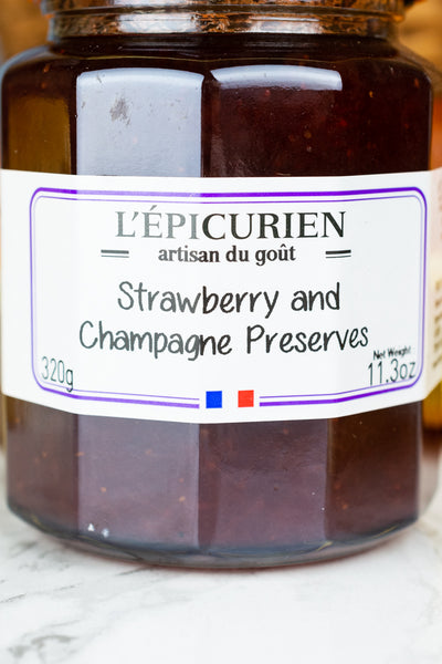 French Strawberry and Champagne Preserves