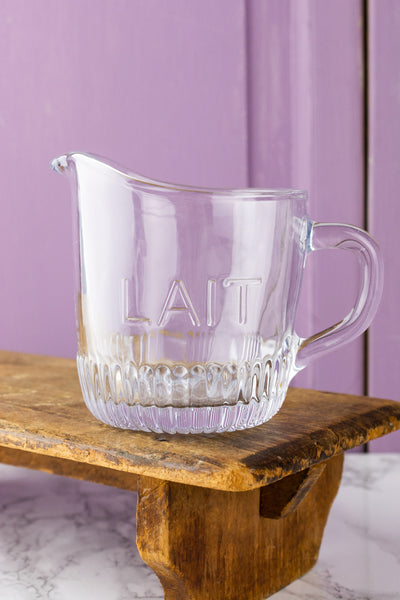 "Glass ""Lait & Sucre"" Set"