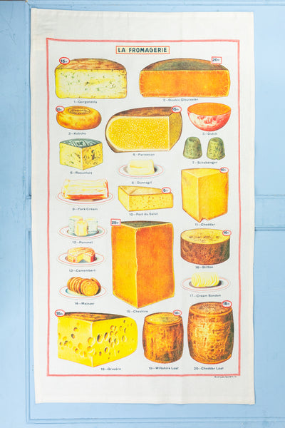 Cheese Tea Towel