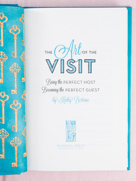 The Art of the Visit by Kathy Bertone