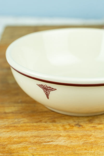U.S. Army Medical Corps Cereal Bowl