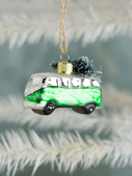 VW Holiday Bus Ornament