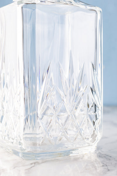 Vintage Crystal  Whiskey Decanter