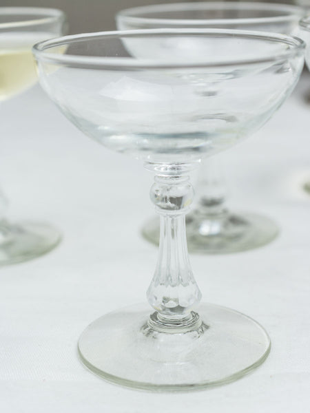 Vintage Champagne Coupes - Set of 8