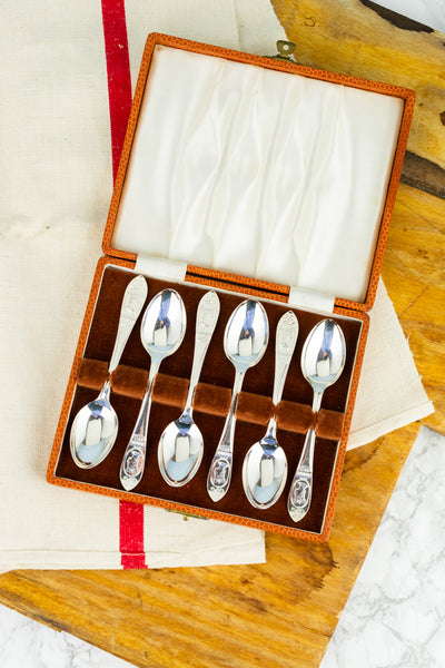 Vintage Coronation 1953 Silverplate Spoons - Set of 6