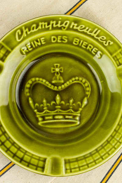 Vintage French Champigneulles Ashtray
