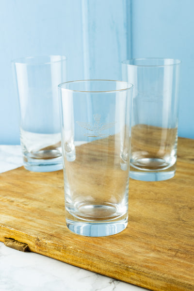 Vintage Italian Air Force Glass Tumbler