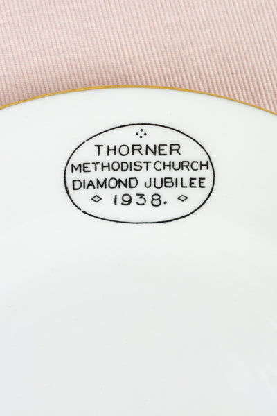 Vintage Methodist Church Plate