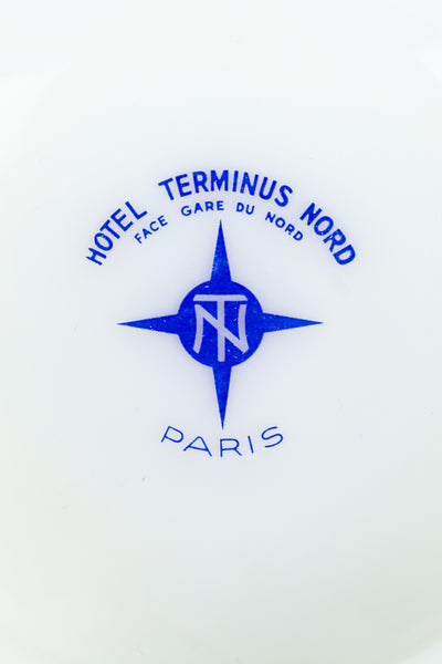 Vintage Hotel Terminus Nord Paris Ashtray