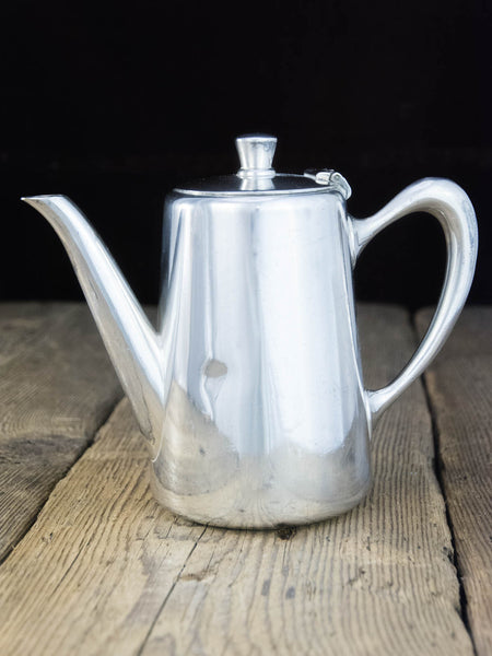 Vintage Silverplate Air France Coffee Pot
