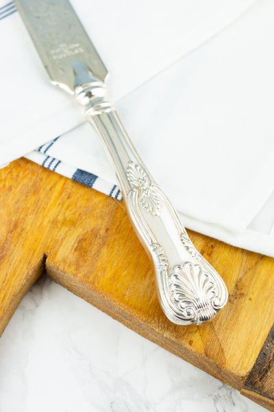 Vintage Silverplate Bridal Cake Knife