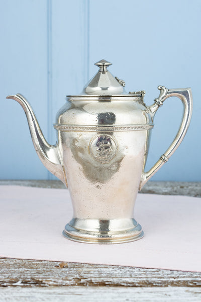 Antique Silverplate Mayflower Hotel Coffee Pot