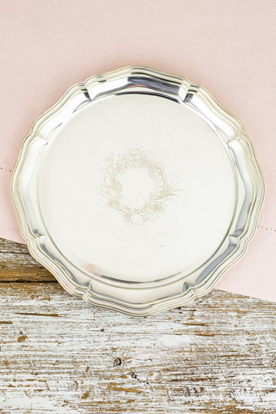 Vintage Silverplate Tray
