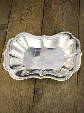 Vintage Silverplate Royal Navy Centerpiece Dish