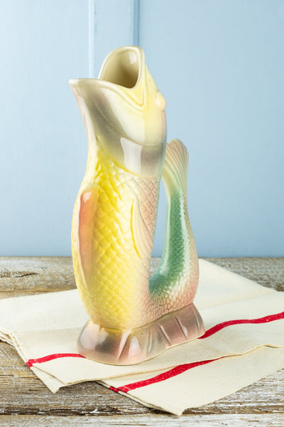 Vintage St. Clément Fish Pitcher